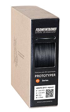 ABS/PA GF 8 black 3d filament